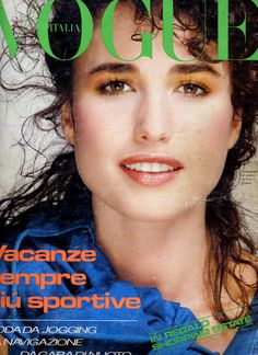 My favorite actress Andie MacDowell  -  Vogue Italia 80's