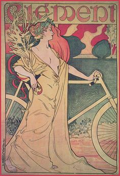 1900 Vintage Cycle Posters Clement Bicycles Canvas by StoneyPrints