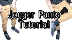 From Scratch #8: How to make Jogger Pants