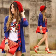 44 Outfit to Wear with Leather Beret for Women #Outfit  http://seasonoutfit.com/2017/12/28/44-outfit-to-wear-with-leather-beret-for-women/