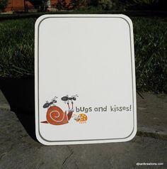 Bug card for boys!