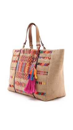 Star Mela Peri East/West Tote