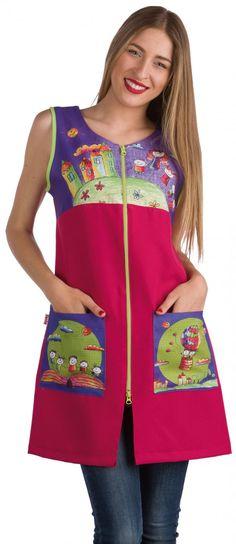 ideas for apron Baby Dress, Dress Up, Stylish Scrubs, Kids Vest, Apron Designs, Teacher Shirts, European Fashion, Traditional Dresses, Dress Patterns