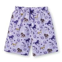 Horses and Hearts Shorts