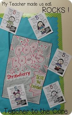 My teacher fed us rocks today and other great 5 senses activities and informational reading
