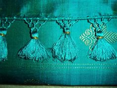 2017 July, Saree Tassels, Ear Rings, Fringes, Indian Sarees, Kurtis, Blouse Designs, Hand Embroidery, Tassel Necklace