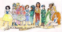 """I am a princess, I choose my dress"" by taijavigilia. Love this!"
