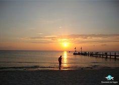 A ilha de Cozumel é um maravilhoso destino mexicano por uma série de razões. Ela tem ótimas praias, pessoas atenciosas e um ótimo lugar para fazer mergulho | Cozumel island is a wonderful mexican destination for a number of reasons. It has great beaches, nice people, and a great place to do scuba diving | Blog documentodeviagem.com