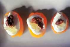 Glazed Pecans and Comb Honey Apricot Hors d'oeuvres - Domestic Geek Girl