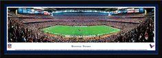Houston Texans Reliant Stadium 50 Yard Line Panoramic Picture