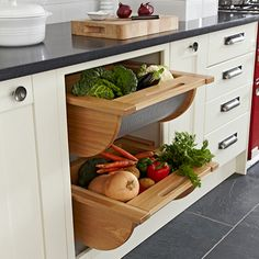 Cómo almacenar frutas y verduras