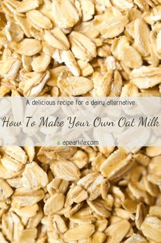 """Read the new post """"How To Make Your Own Oat Milk"""". During this year, I have been more motivated than ever to pursue a healthier diet by making my own food and products. Not only is it rewarding to feel the pride of making something yourself, it is also incredibly beneficial to your health when you know exactly what goes into your body. I hope you enjoy my special recipe.  #oatmilk #oatmilkrecipe #oatmilklatte #ilovedairytoo #body Cheap Meals, Easy Meals, Relaxation Scripts, Best Party Food, Meditation For Beginners, Body Hacks, Seasonal Food, Food For A Crowd, Special Recipes"""