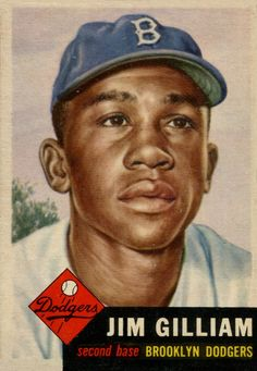 1953 Topps Jim Gilliam