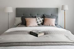 ~ Colours! (Love the idea of adding colour by choosing different patterned and vibrant coloured pillows).