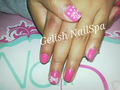 Gelish Passion con sellos konad