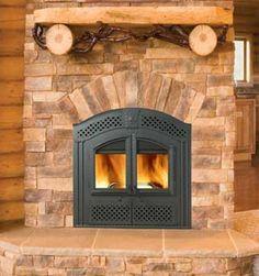 Napoleon NZ26WI http://www.classicfireplace.ca/wood-zero-clearance.html