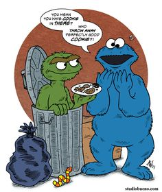 Another in the Sesame Street series. Oscar the Grouch (and his pet worm, Slimey) get a visit from the Cookie Monster! Oscar the Grouch, Cookie Monster, . Oscar and Cookie Monster Watch Cartoons, 90s Cartoons, Monster Coloring Pages, Sesame Street Muppets, Oscar The Grouch, Glue Book, Big Bird, Smash Book, Spirit Animal