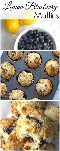 Lemon Blueberry Muffins - This healthy and delicious muffin recipe ...