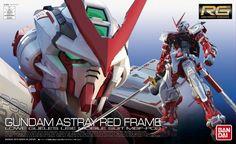 1/144 RG Gundam Astray Red Frame Action Figure by Bandai Japan
