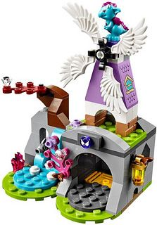 LEGO Elves 41077 - Aira's Pegasus Sleigh #lego #legoelves