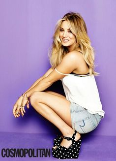Kaley Cuoco ~ Cosmopolitan March 31st, 2014