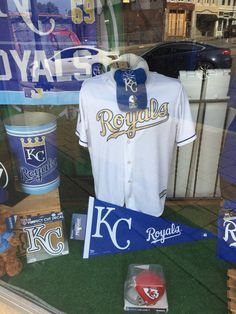 New Window Addition!  Go Royals!  #brantsclothing