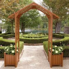 Marvelous Unique Ideas: Backyard Garden Oasis Home backyard garden kids fence.Backyard G Garden Arches, Backyard Garden Landscape, Garden Entrance, Small Backyard Gardens, Garden Oasis, Garden Kids, Garden Path, Desert Backyard, Rustic Backyard