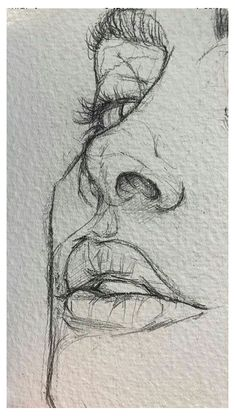 Pencil Sketch Drawing, Art Drawings Sketches Simple, Pencil Art Drawings, Cool Drawings, Drawing Base, Disney Drawings, Indie Drawings, Drawing Tips, Easy Portrait Drawing