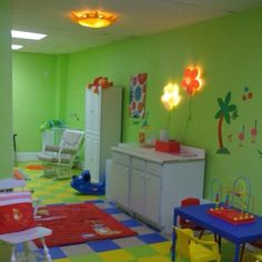 Church nursery inspired and furnished by Ikea
