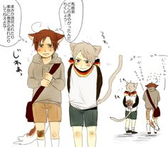 I thought it was just normal cute Chibi Neko prumano then I saw LIL KITTY PRUPRU HOLDING FLOWERS AND I CANNOT
