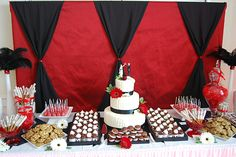 dessert:  platters of cake pops, cupcakes, whoopie pies and shortcake sandwiches?