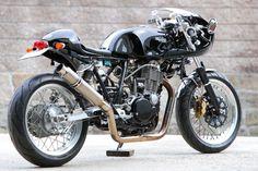 Custom Motorcycles, Cars And Motorcycles, Sr 500, Hiroshima, Shape Design, Yamaha, Bike, Cafe Racers, Gentleman