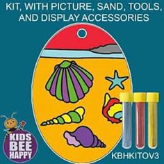 For prices visit www.acornkids.com/learningfun  janavdmerwe8@gmail.com Sand Art, Bee Happy, Display, Kit, Pictures, Accessories, Floor Space, Photos, Billboard