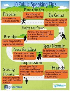 PUBLIC SPEAKING DO: Speak Normally. Here are 10 tips on how to make your presentation go smoothly. ---- For Business Coaching, Marketing Strategy, Brand Development, Public Speaking Coaching, and Presentation Workshops in Colorado Springs and Beyond visit www.HugSpeak.com.