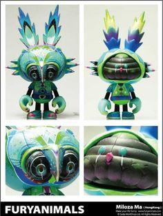 Furyanimals X Brain Child   by Miloza Ma