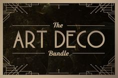 Art Deco Bundle • Save 60% by Tugcu Design Co. on Creative Market