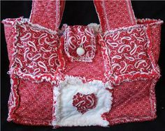 Free Rag Quilt Patterns | Details about SEW EZ RAG QUILT PURSE, TOTE, BAG INSTRUCTIONS PATTERNS