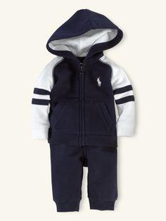 2-Piece Hook-Up Set - Layette Outfits & Gift Sets - RalphLauren.com