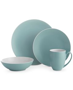 Nambe Pop Collection by Robin Levien 4-Piece Place Setting