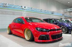Osaka Auto Messe 2015 // Part Scirocco Tuning, Vw Scirocco, Slammed Cars, Jdm Cars, Vw Corrado, Truck Rims, Girls Driving, Volkswagen Models, Weird Cars