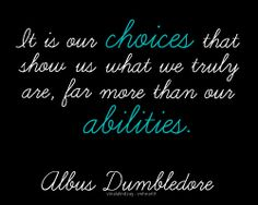 Harry Potter Quotes   dumbledore, harry potter, quote, wise - image #182716 on Favim.com