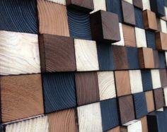 Wandkunst - Holz - aufgearbeiteten Holz Kunst