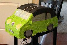 VW Beetle Car Custom Piñata from Piñatas Plus - email pinatasplus@gmail.com