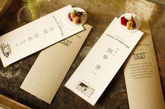 席札/TABLE CARD | アトリエみちくさ公式サイト 名古屋市中村区のフラワーショップ