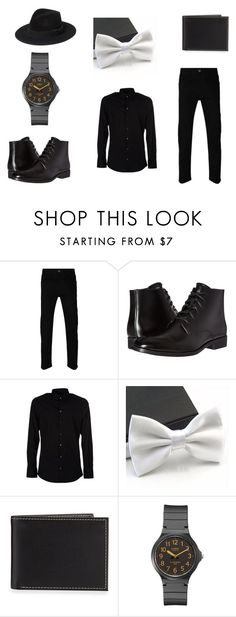 """#1"" by american-idi0t ❤ liked on Polyvore featuring Gucci, Calvin Klein, Dolce&Gabbana, Neiman Marcus, Casio, Yves Saint Laurent, men's fashion and menswear"