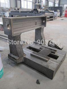 iron cast cnc engraving machine Frame 6060 CNC DIY ball screw linear slider cutting metal  milling machine  600x600x300MM