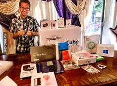 Someone is happy, Ahmed received gift from Microsoft.