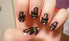 Amazing Black Cat Nail Art Designs Ideas 2014 2015 5 Amazing Black Cat Nail Art Designs & Ideas 2014/ 2015