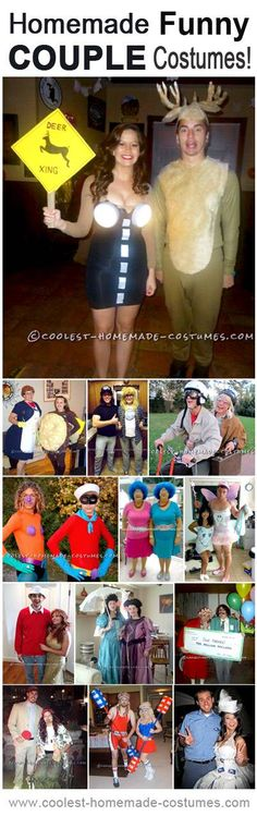 Halloween is the perfect holiday for couples to bond, and plus, a two person costume is twice as awesome.