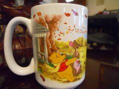 Disney Winnie The Pooh Piglet Flying Kite Windy Day Coffee Mug | eBay